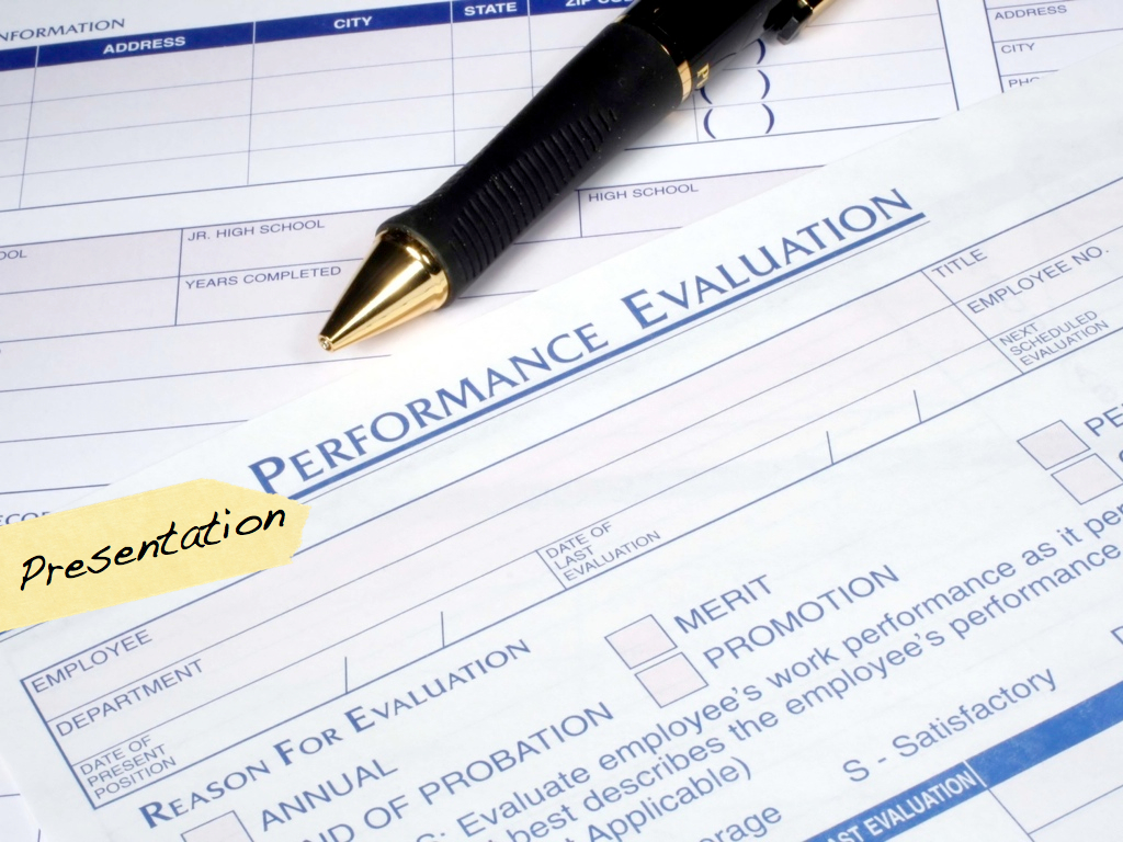 improving your presentation skills what to do about your presentation performance evaluation